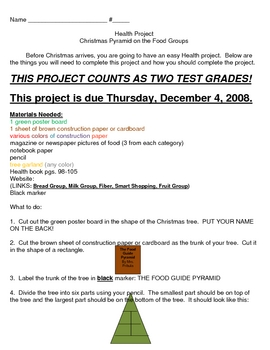 Christmas Food Group Project