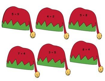 Christmas Four Game Math Bundle