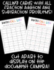 Christmas Fraction BINGO! 32 Different Cards! Add/Subtract w/ LIKE Denominators!