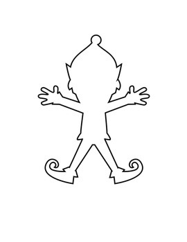 Draw your own Christmas Fraction Elf