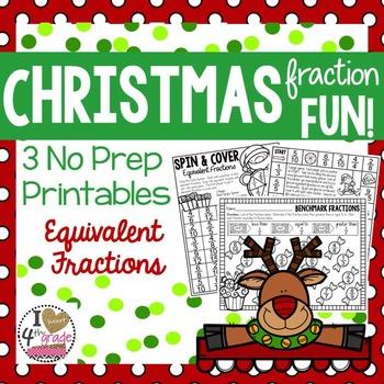 Christmas Fraction Fun