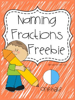 Naming Fraction Printables