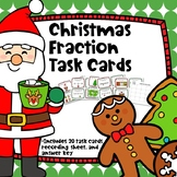 Christmas Fractions Task Cards
