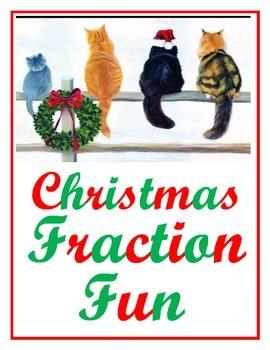 4th Grade Christmas Fractions