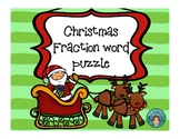 Fractions Christmas - For Math or Literacy Centers