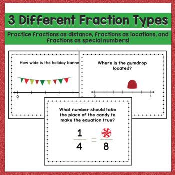 Christmas Game Fractions