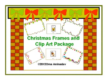 Christmas Frames and Clip Art