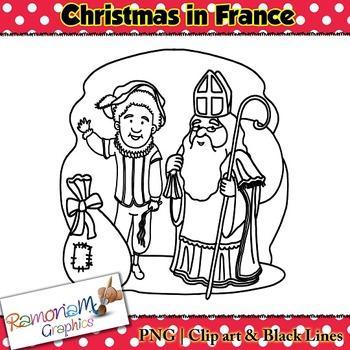 Christmas around the World Clip art France