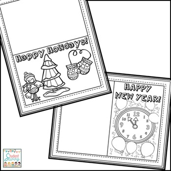 Christmas Free Resource Holiday Cards
