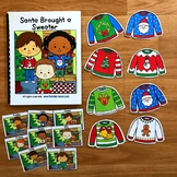 """Christmas Adapted Book:  """"Santa Brought a Sweater"""""""