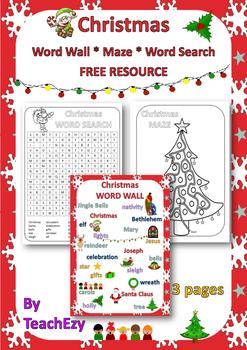 Christmas Free Resource