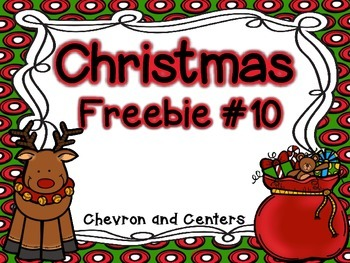 Christmas Freebie #10