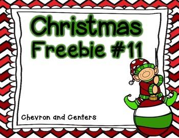 Christmas Freebie #11
