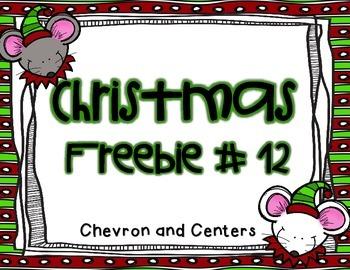 Christmas Freebie # 12