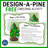 Christmas Following Directions Activity FREE
