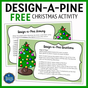 Christmas Drawing Activity FREE