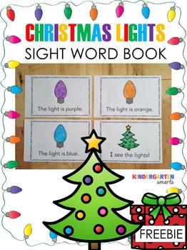 Christmas Sight Word Book Free