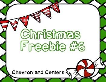 Christmas Freebie #6