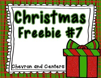 Christmas Freebie #7