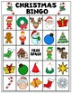 Christmas Freebie! Bingo, Lights Scavenger Hunt, Thank You Card