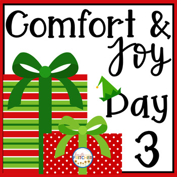 Christmas Freebie: Comfort and Joy Day 3
