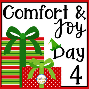 Christmas Freebie: Comfort and Joy Day 4