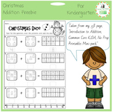 Christmas Freebie - Introduction to Addition for K.OA
