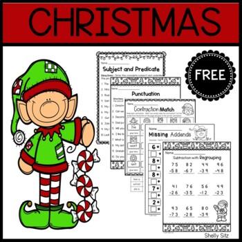Christmas Freebie--Print and Go