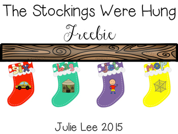 Christmas Freebie {The Stockings Were Hung}