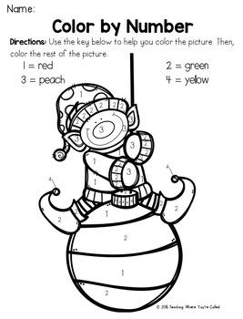 Christmas Freebies for PreK - 1st Grade