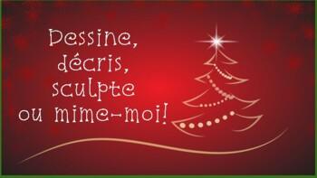 Christmas French BoardGame/Jeu de société de Noël en français