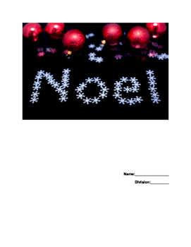 Christmas French Vocabulary Booklet