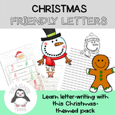 Christmas Friendly Letters - Letter Writing Pack