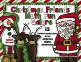 Christmas Friends Math Stations Galore Fun-12 Differentiated/Aligned Stations