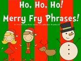 Christmas Fry Phrases