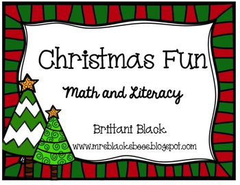 Christmas Fun~ Math and Literacy