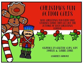Christmas Fun Action Cards