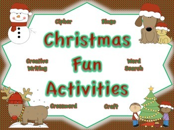Christmas Fun Activities