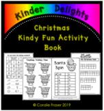 Christmas Kindy Fun Activity Book