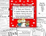 Christmas Fun! Alphabetical Order & Other Language Arts Skills