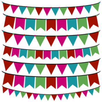 Christmas Fun Banners and Bunting FREEBIE!
