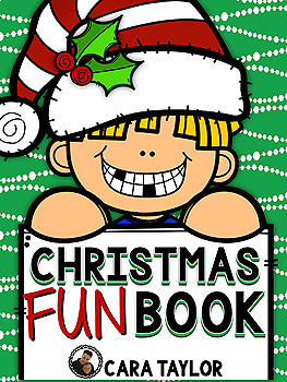 Christmas Fun Book ~ Interactive Activies, Games, and Writing Prompts!
