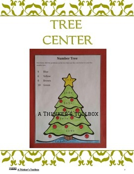 Christmas Fun - Center Activities