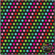 Christmas Fun Dots on Black Digital Papers {Commercial Use