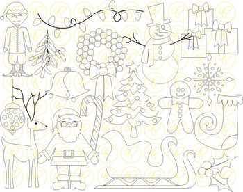 Christmas Fun Clipart by Poppydreamz