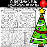 Christmas Fun: Colorful Lights Sight Words (Fry's First 100)