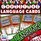 Christmas Fun Decks: Language Concepts