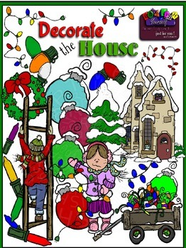 Christmas Decorate The House 14 FREE Elements Included