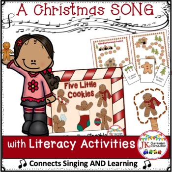 Christmas Song! Five Little Cookies - Shared Reading Singable