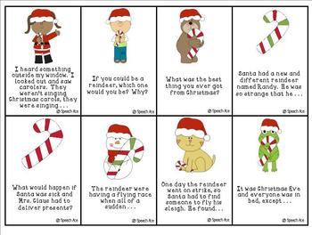 Christmas Fun: Inferences, Context Clues, Details, and Story Starters
